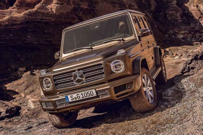 2019 Mercedes Benz G Glass