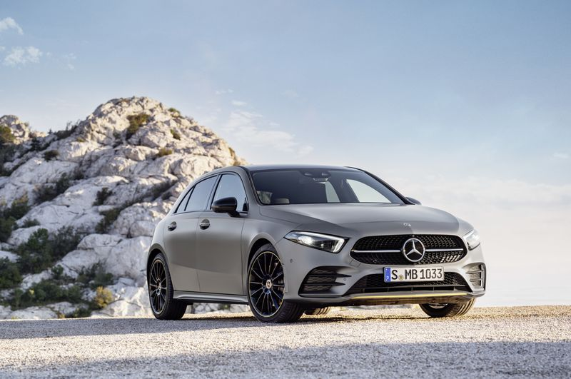 The New Mercedes  Benz A-Class Hatchback Introduced