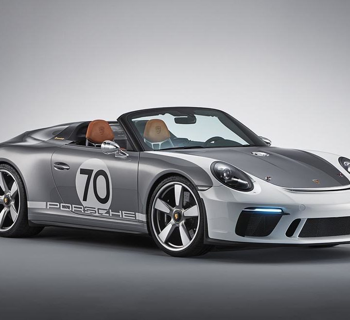 The Porsche 911 Speedster Concept: a 500 horsepower open-air thrill ride