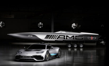 LiV to Drive on Land and on Water with Mercedes-AMG and Cigarette Racing
